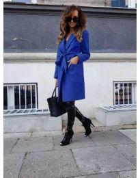 Παλτό - κώδ. 182 - μπλε