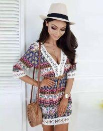 Φόρεμα - κώδ. 8306 - πολύχρωμο