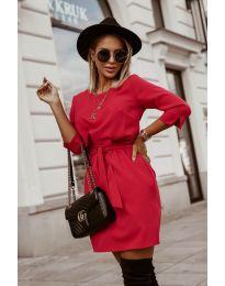Φόρεμα - κώδ. 6100 - κόκκινο