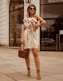 Φόρεμα - κώδ. 7100 - μπεζ