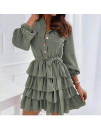Φόρεμα - κώδ. 7356 - χακί