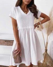 Φόρεμα - κώδ. 1679 - 1 - λευκό