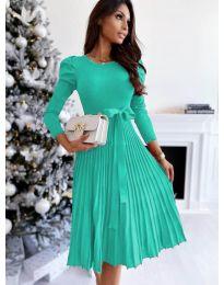 Φόρεμα - κώδ. 3939 - τυρκουάζ