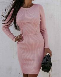 Φόρεμα - κώδ. 0891 - ροζ