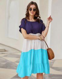 Φόρεμα - κώδ. 1039 - 2 - πολύχρωμο