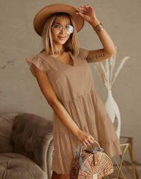 Φόρεμα - κώδ. 6224 - μπεζ