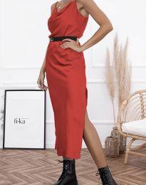 Φόρεμα - κώδ. 6231 - κόκκινο