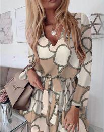 Φόρεμα - κώδ. 566 - λευκό