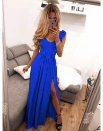 Φόρεμα - κώδ. 673 - μπλε