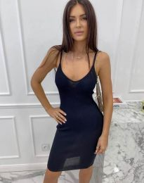 Φόρεμα - κώδ. 4476 - σκούρο μπλε