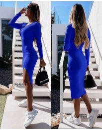 Φόρεμα - κώδ. 8291 - σκούρο μπλε