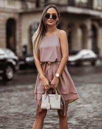 Φόρεμα - κώδ. 2104 - ροζ