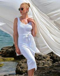 Φόρεμα - κώδ. 2722 - λευκό
