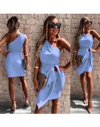 Φόρεμα - κώδ. 2457 - γαλάζιο