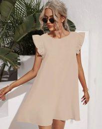 Φόρεμα - κώδ. 6261 - μπεζ