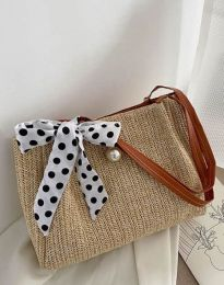 Τσάντα - κώδ. B470 - καπουτσίνο