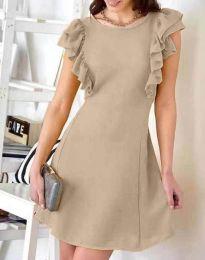 Φόρεμα - κώδ. 7111 - μπεζ