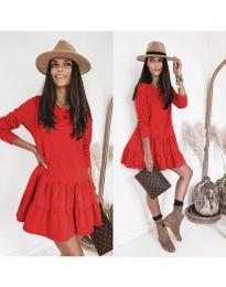 Φόρεμα - κώδ. 8486 - κόκκινο