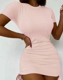 Φόρεμα - κώδ. 5569 - ροζ