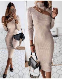 Φόρεμα - κώδ. 149 - μπεζ