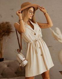Φόρεμα - κώδ. 2702 - μπεζ