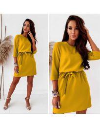 Φόρεμα - κώδ. 778 - μουσταρδί