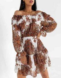 Φόρεμα - κώδ. 1667 - πολύχρωμο
