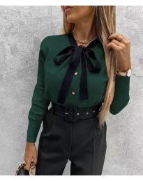Πουκάμισο - κώδ. 3737 - σκούρο πράσινο