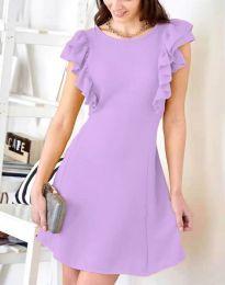 Φόρεμα - κώδ. 7111 - ανοιχτό μωβ