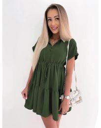 Φόρεμα - κώδ. 8889 - λαδί