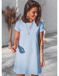 Φόρεμα - κώδ. 2299 - γαλάζιο