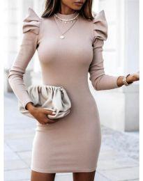 Φόρεμα - κώδ. 1504 - 1 - μπεζ