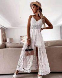 Φόρεμα - κώδ. 2704 - λευκό
