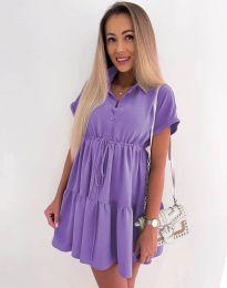 Φόρεμα - κώδ. 8889 - μωβ