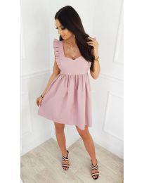 Φόρεμα - κώδ. 818 - ροζ