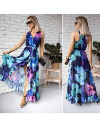 Φόρεμα - κώδ. 617 - πολύχρωμο