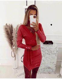 Φόρεμα - κώδ. 2077 - κόκκινο