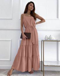 Φόρεμα - κώδ. 2578 - πούδρα