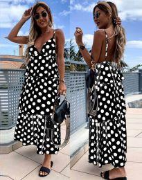 Φόρεμα - κώδ. 8192 - μαύρο