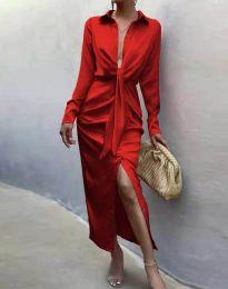 Φόρεμα - κώδ. 6459 - κόκκινο