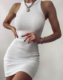 Φόρεμα - κώδ. 2470 - 1 - λευκό