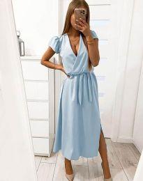 Φόρεμα - κώδ. 2455 - 1 - γαλάζιο