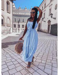 Φόρεμα - κώδ. 1230 - γαλάζιο
