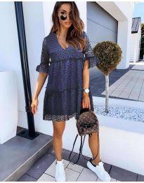 Φόρεμα - κώδ. 278 - σκούρο μπλε