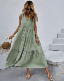 Φόρεμα - κώδ. 8149 - πράσινο