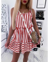 Φόρεμα - κώδ. 851 - κόκκινο