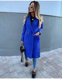 Παλτό - κώδ. 1695 - μπλε