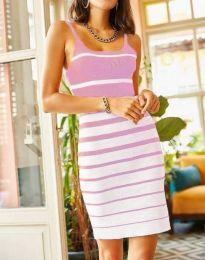 Φόρεμα - κώδ. 0998 - ανοιχτό ροζ