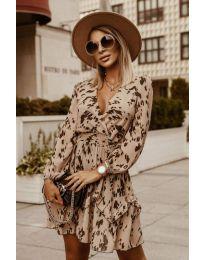 Φόρεμα - κώδ. 7714 - πολύχρωμο