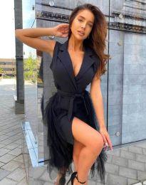 Φόρεμα - κώδ. 2256 - 1 - μαύρο